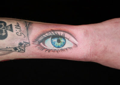 Tattoo Auge