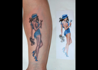 Tattoo PinUp Girl