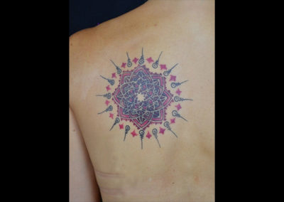 Tattoo Rosenmandala