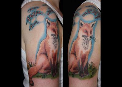 Tattoo Fuchs