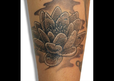 Tattoo Wasserrose
