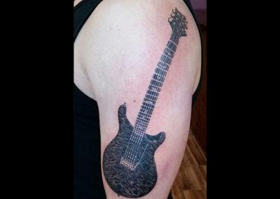 Gitarre Tattoo