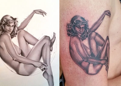 Pin-up Tattoo