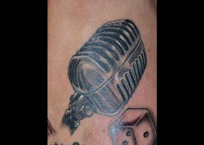Mikrofon Tattoo